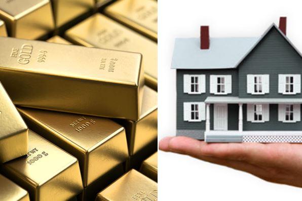 Золото и недвижимость